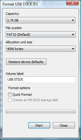 How To Format Pendrive Using Ms Dos Guide How to Format USB