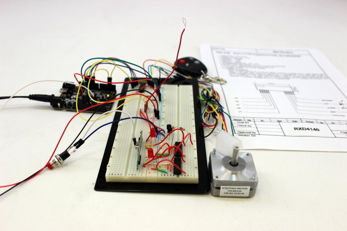 Diy Series Wireless Stepper Motor Control Simply Smarter Another Important Aspect Of Circuits And Power 1