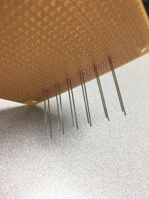 Arranging LED anodes