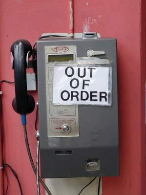 out of order - emergency cell phone charger