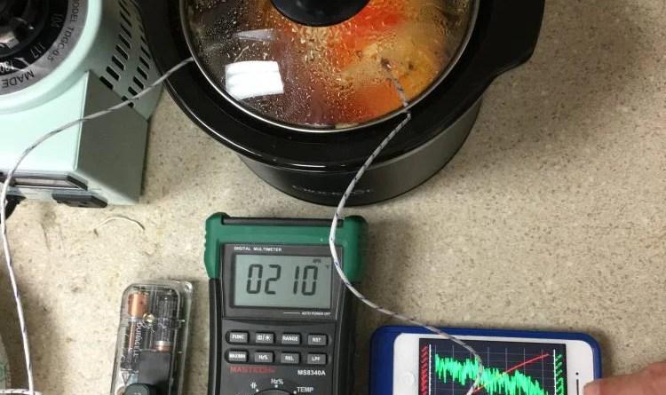 Variac Crock-Pot Experiment