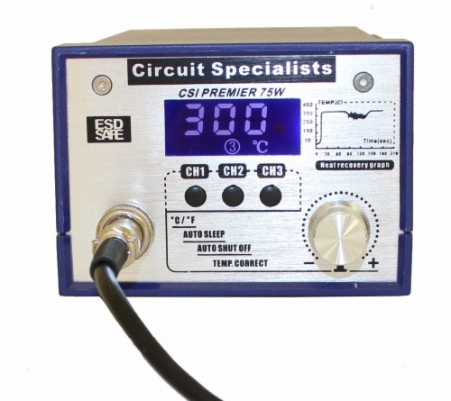 Circuit Specialists Premier 75w Soldering Iron Station