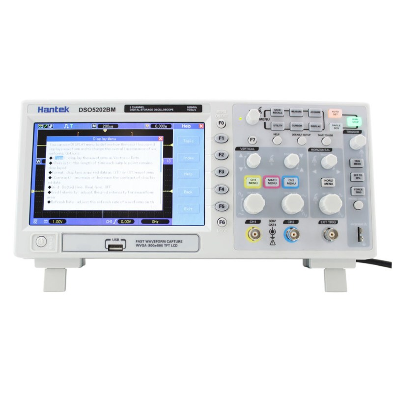 Hantek DSO5202BM Deep Memory Oscilloscopes - Circuit Specialists Blog