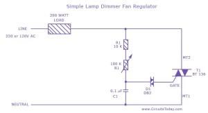 Student Yuva: Simple Lamp Dimmer Fan Regulator