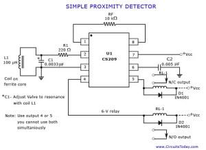 Proximity Detector or Sensor