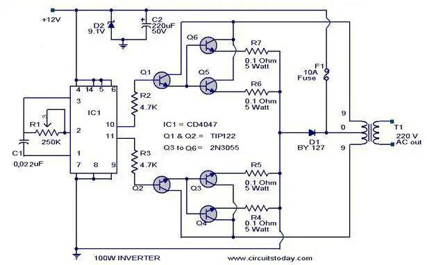 inverter schematic diagram  data wiring diagrams •