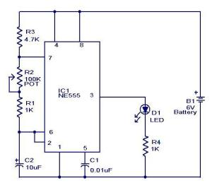Mini Flasher  Electronic Circuits and DiagramsElectronic