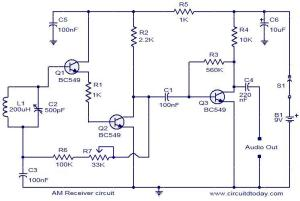 AM receiver circuit  Electronic Circuits and Diagrams
