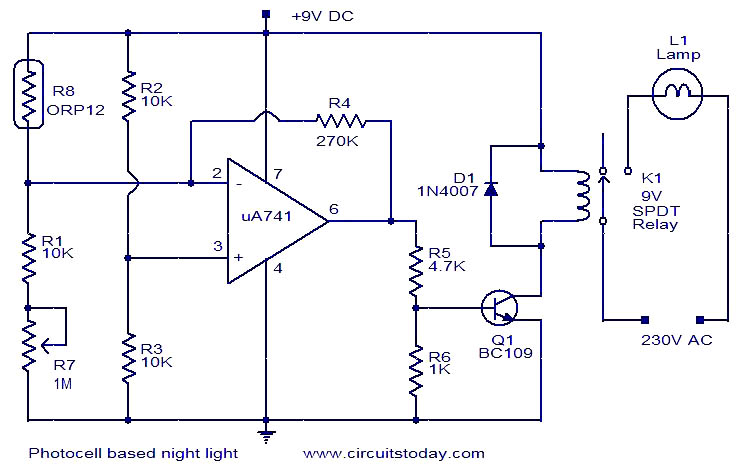Photocell relay wiring diagram wiring diagrams 3wire photocell wiring schematic wiring diagram 480v photocell wiring wiring photocell 277vac lighting contactor with photocell asfbconference2016 Image collections