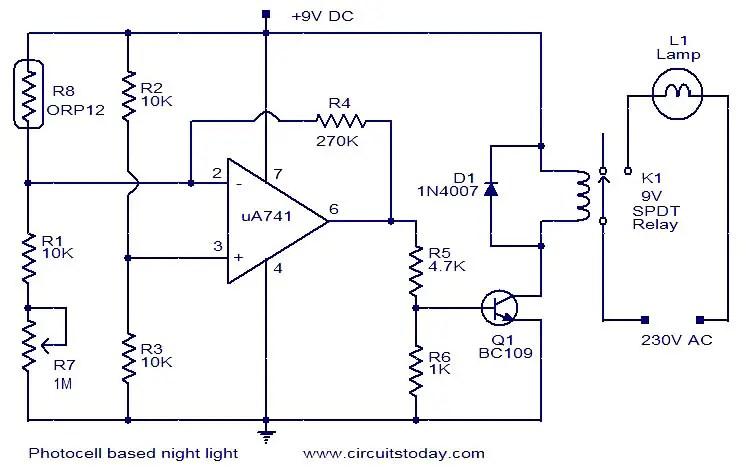 Brilliant 12V Photocell Wiring Diagram Wiring Diagram Wiring Database Denligelartorg