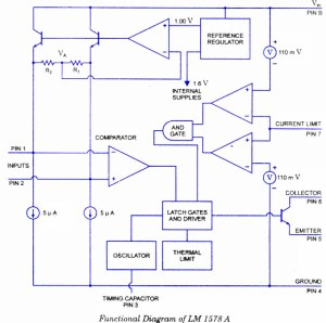 Switching Regulator using LM1758 A  Electronic Circuits and DiagramsElectronic Projects and Design