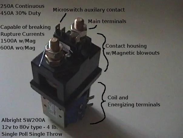 working of contactors