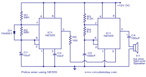 555 Timer IC | ELECTRONICS PROJECTS