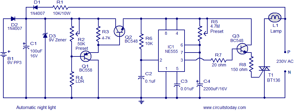 automatic_ night light circuit?resize=665%2C254 street lighting circuit wiring diagram the best wiring diagram 2017 street lighting circuit wiring diagram at n-0.co