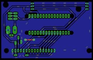 Car speed detector using Arduino Nano  Circuit Diagram