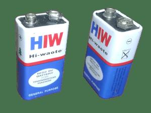 HIW 9 Volt Battery – India