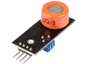 Alcohol Ethanol Detection Gas Sensor MQ3 Module – India