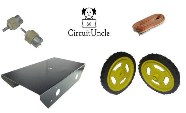 Affordable Racing Robot Kit - Buy online in India - Circuit Uncle