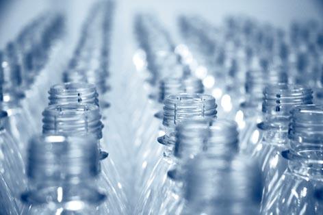 plastic-bottles clear