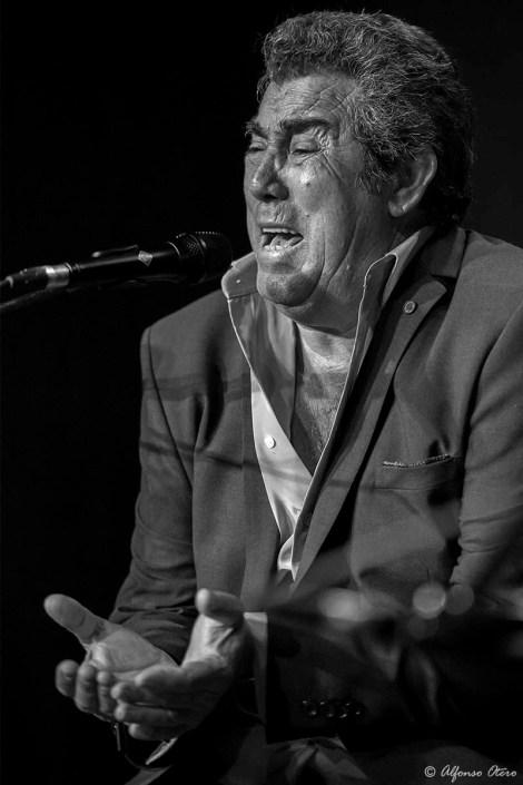 Foto de Diego El Cabrillero en el Círculo Flamenco de Madrid, tomada por Alfonso Otero