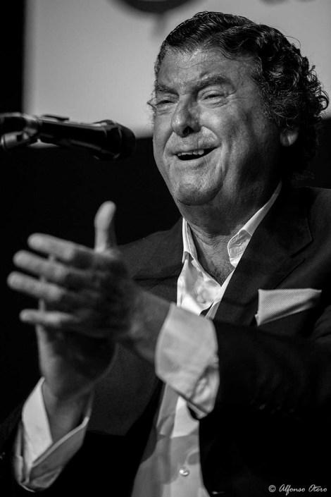 Foto de Luis El Zambo en el Círculo Flamenco de Madrid, tomada por Alfonso Otero