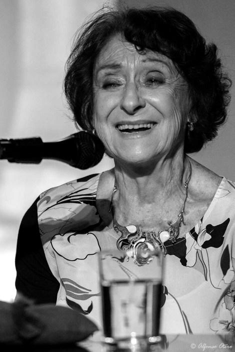 Foto de Luisa Triana en el Círculo Flamenco de Madrid, tomada por Alfonso Otero