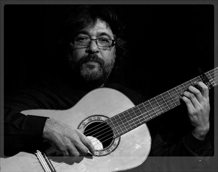 Foto de Manuel Parrilla en el Círculo Flamenco de Madrid, tomada por Diego Gallardo
