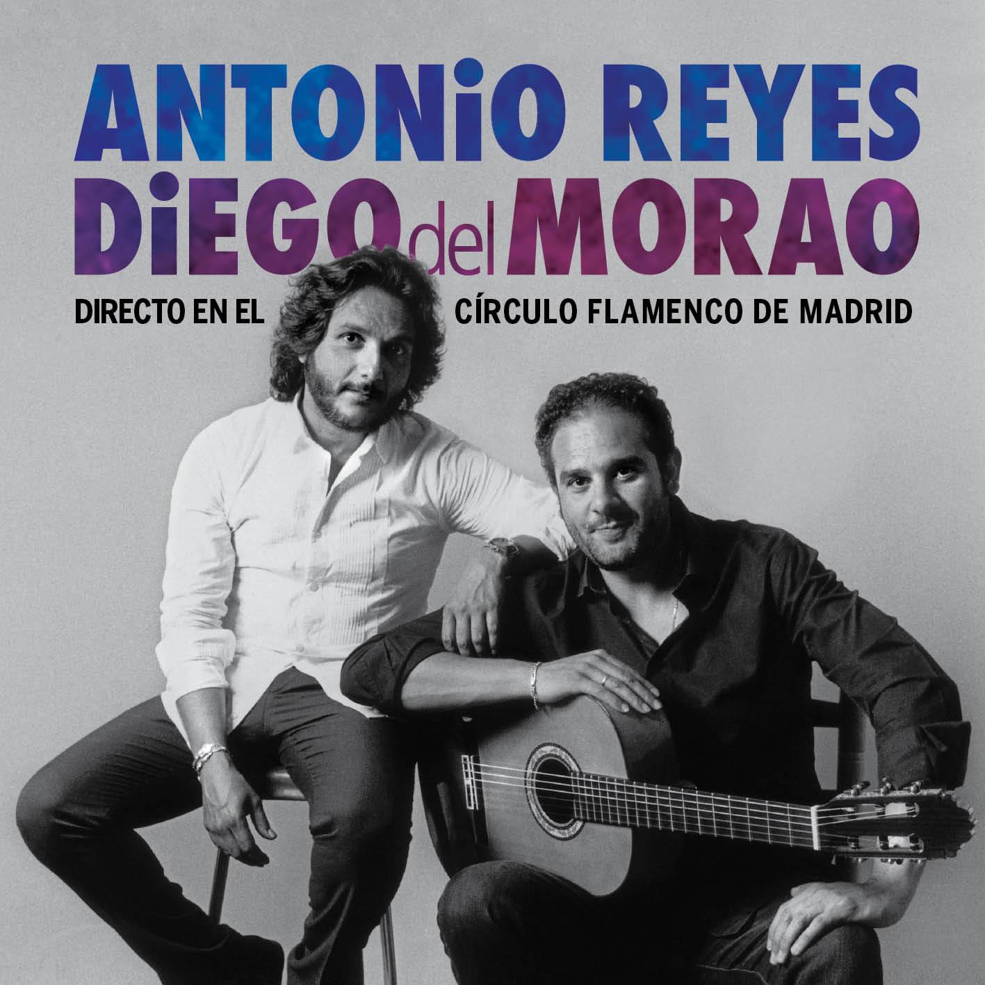 Foto del directo de Antonio Reyes y Diego del Morao en el Círculo Flamenco de Madrid