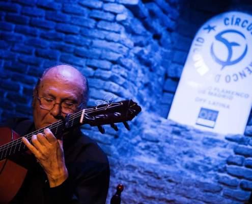 Foto de Paco del Gastor en el Círculo Flamenco de Madrid el 16/11/2017, tomada por Rufo