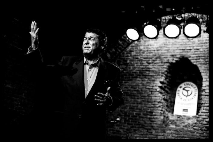 Foto de Diego el Cabrillero en el Círculo Flamenco de Madrid, tomada por Claudia Ruiz