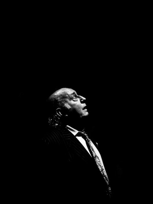Foto de Fernando de la Morena en el Círculo Flamenco de Madrid, tomada por Claudia Ruiz