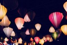 colorful Panton Globe Lamp