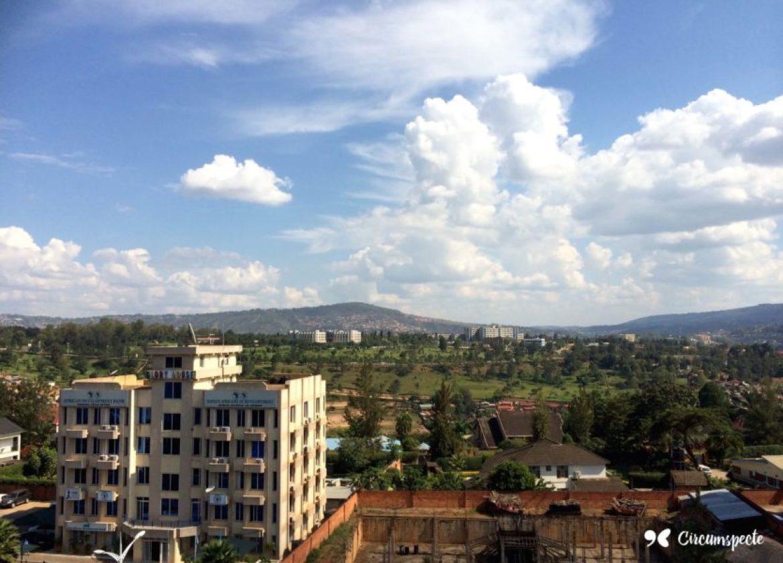 A view of Kigali's business district. Rwanda's capital.