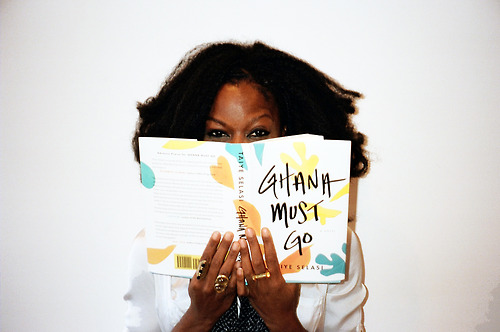 Writer Taiye Selasi. Ghana Must Go author.