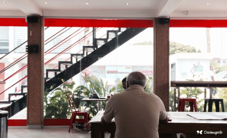 Vida E Café is a South African coffee shop company with branches in Ghana's capital Accra.One of Accra's best coffee shops. Credit: Jemila Abdulai