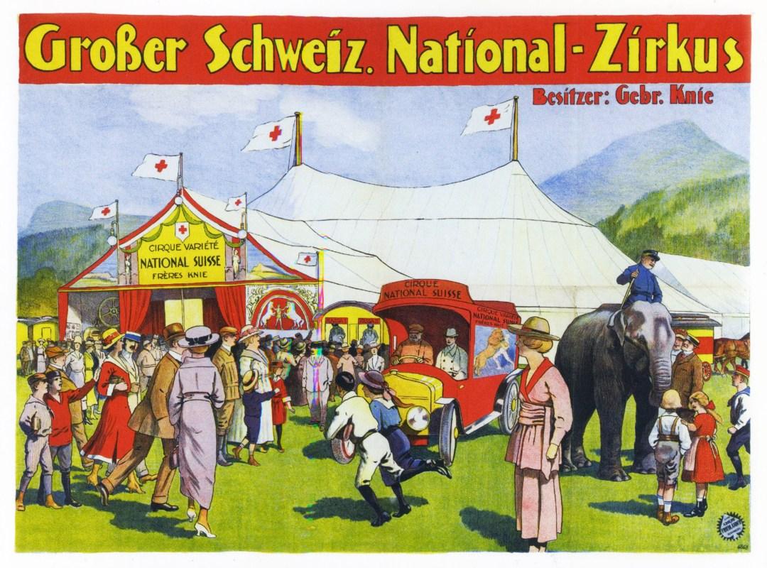 Cirque Knie - affiches de Cirque
