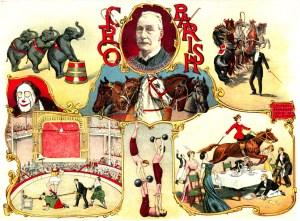 Parish - 1901 au Cirque