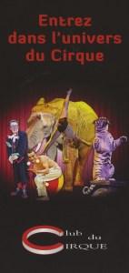 Association du Club du Cirque - Encyclopédie du Cirque
