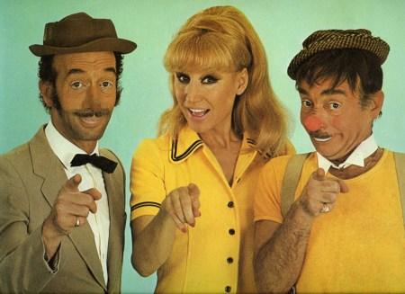 photo de Nello, Henny et Freddy Bario - clowns vedettes
