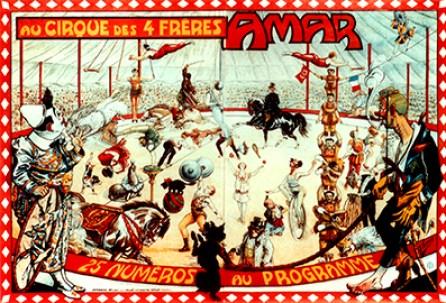 Amar en 1927 - Encyclopédie du Cirque