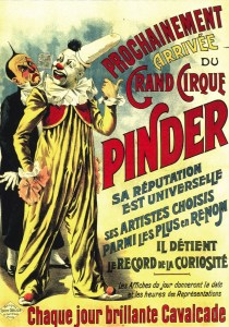 affiche Pinder - Année 1900 au Cirque