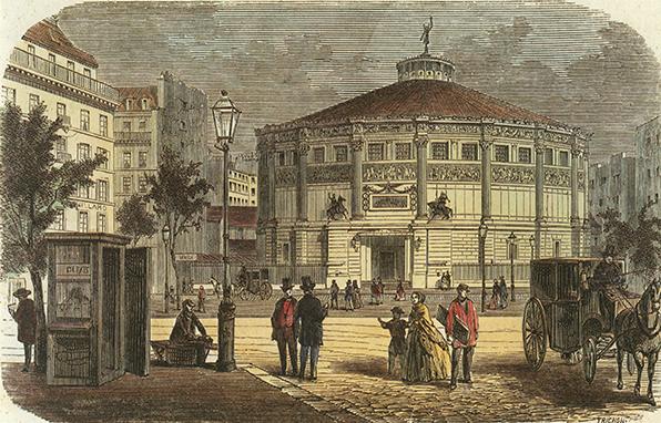 Le cirque Napoléon par Trichon