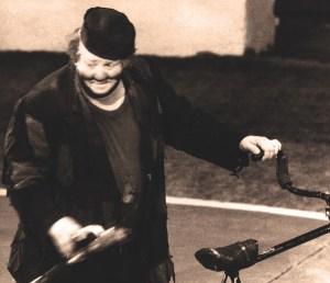 Photo- Souvenir de Joe Jackson Junior - Le voleur de bicyclette