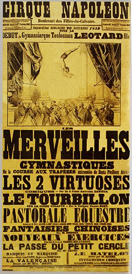 Léotard au Cirque Napoléon -