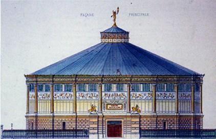Façade du Cirque Napoléon