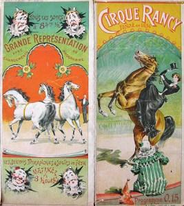 Rancy - Année 1900 au Cirque
