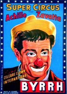 Achille Zavatta au Super Circus - Star du Cirque
