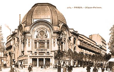 l'Hippo-Palace place Clichy - Hippodromes parisiens