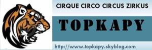 Logo Topkapy - Sites francophones de Cirque