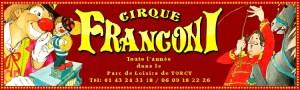 Logo Alexandra Franconi - Cirques français
